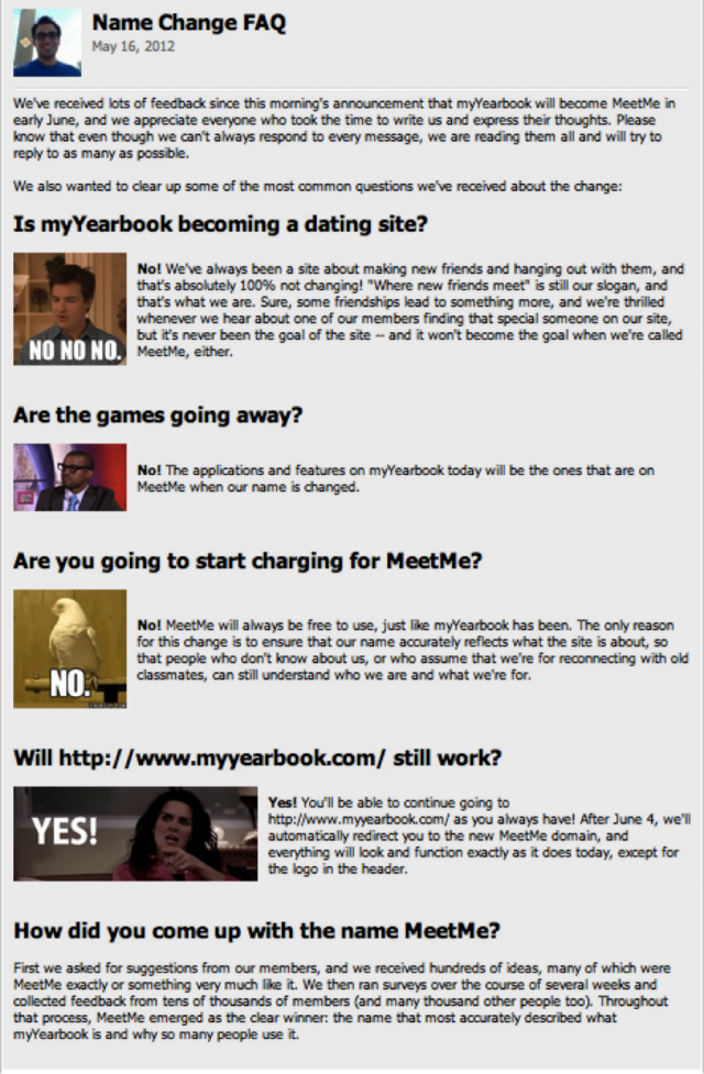 my yearbook dating site